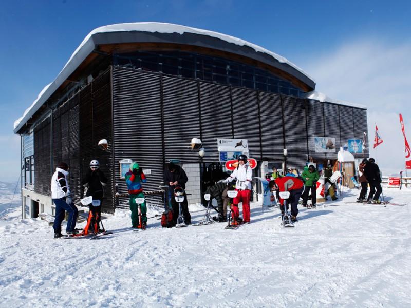 Location snowscoot
