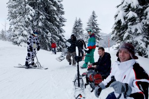 Initiation snowscoot
