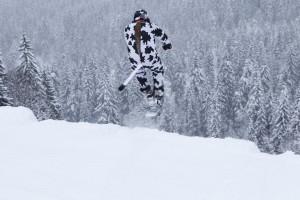 Cours privé en snowscoot