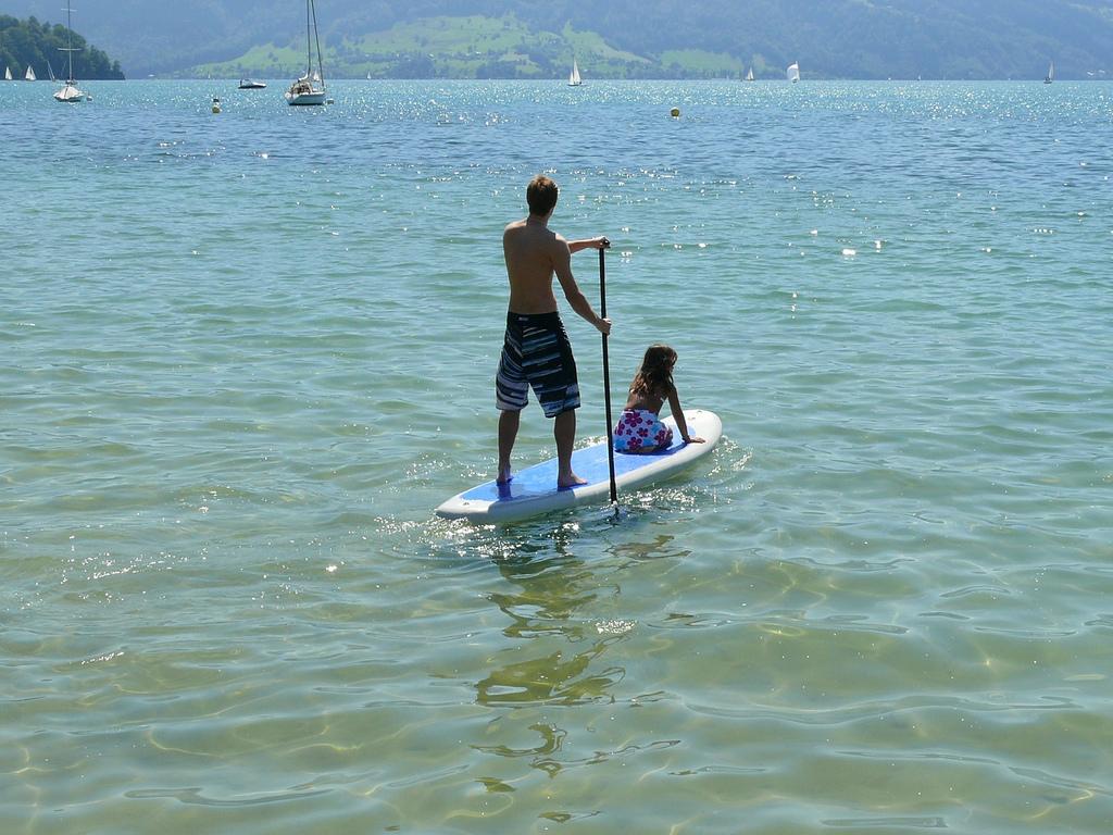 Découvrez la Gruyère en stand up paddle